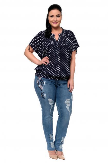 Артикул 300635-1 - джинсы большого размера