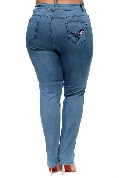 Артикул 300635-1 - джинсы большого размера - вид сзади