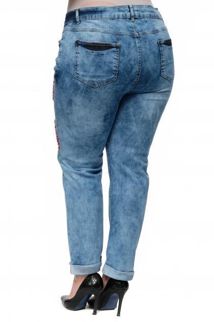 Артикул 304527 - джинсы большого размера - вид сзади