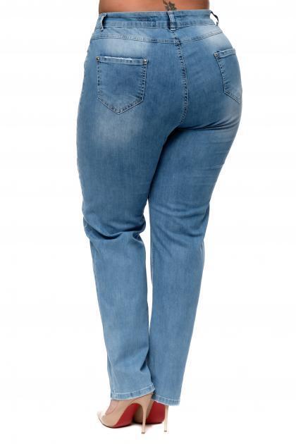 Артикул 302319 - джинсы большого размера - вид сзади