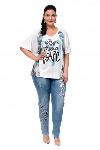 Артикул 302319 - джинсы большого размера