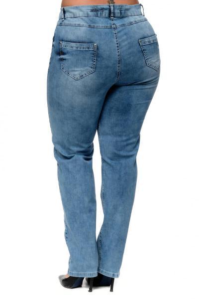 Артикул 302403 - джинсы большого размера - вид сзади