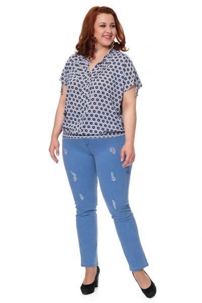 Артикул 302625 - джинсы большого размера