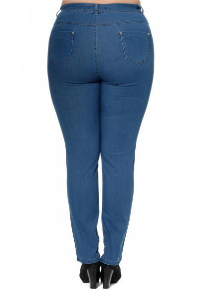 Артикул 300635-2 - джинсы большого размера - вид сзади