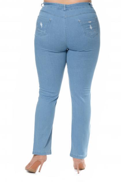 Артикул 303326 - джинсы большого размера - вид сзади
