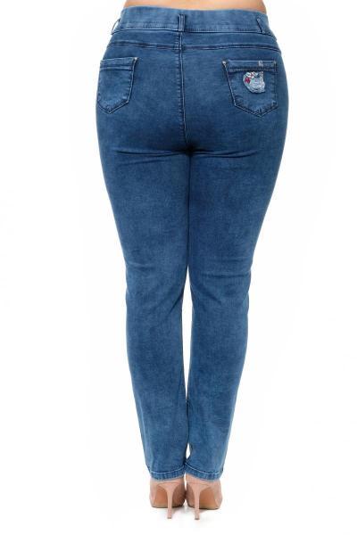 Артикул 302667 - джинсы большого размера - вид сзади