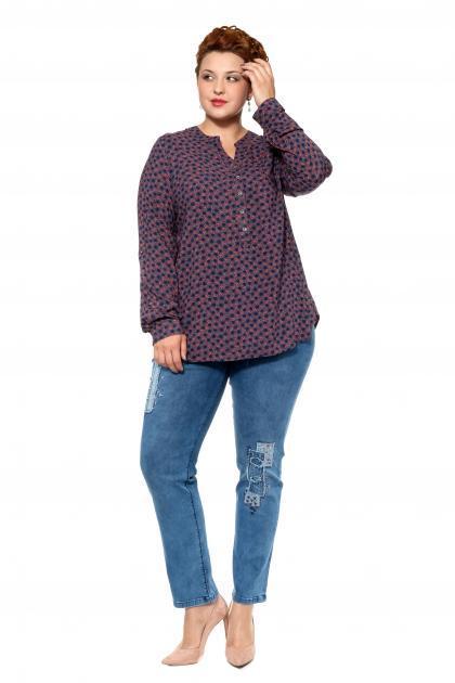 Артикул 302665 - джинсы большого размера