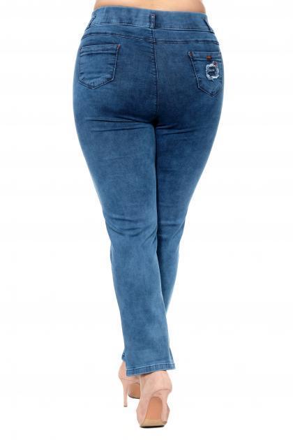 Артикул 302665 - джинсы большого размера - вид сзади