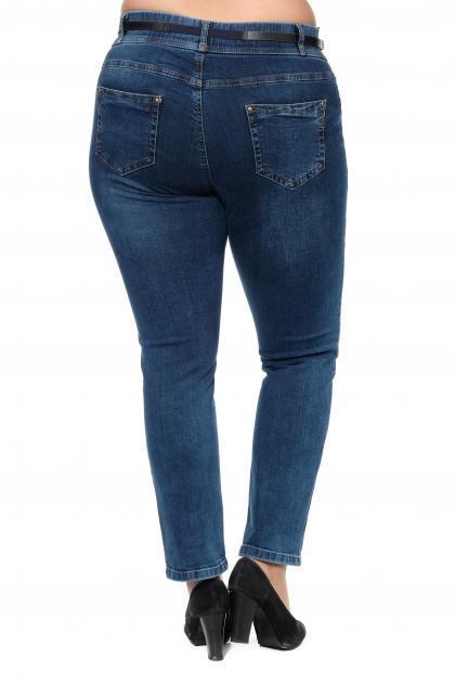 Артикул 301373 - джинсы большого размера - вид сзади