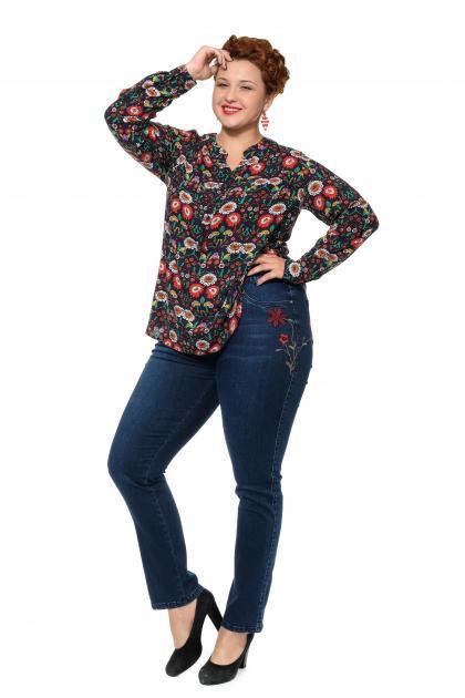 Артикул 301370 - джинсы большого размера