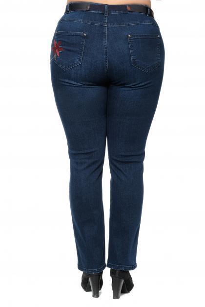 Артикул 301370 - джинсы большого размера - вид сзади
