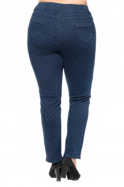 Артикул 301074 - джинсы большого размера - вид сзади