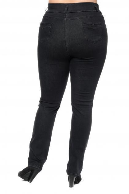 Артикул 301048 - джинсы большого размера - вид сзади