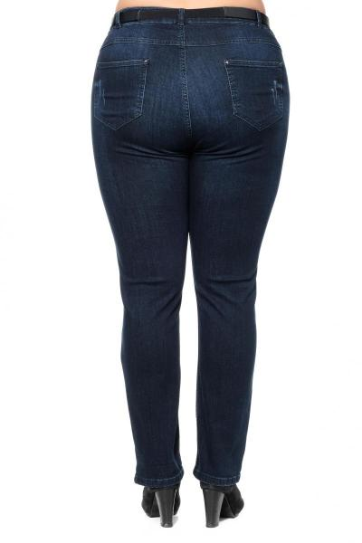 Артикул 301378 - джинсы большого размера - вид сзади