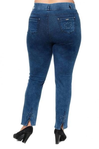Артикул 301029 - джинсы большого размера - вид сзади