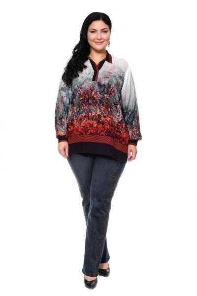Артикул 304181 - джинсы большого размера