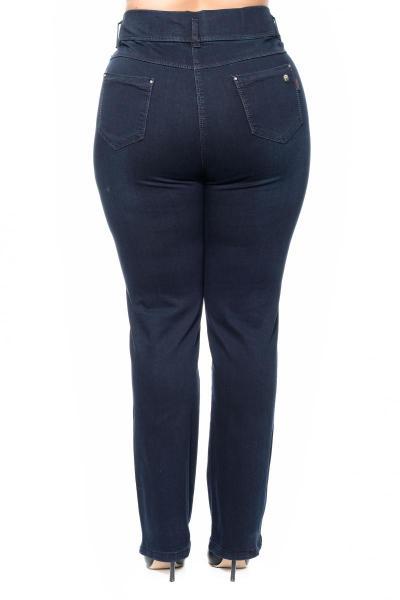 Артикул 304181 - джинсы большого размера - вид сзади