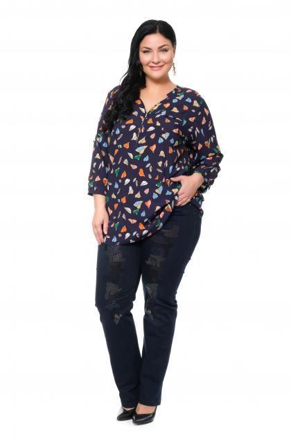 Артикул 304184 - джинсы большого размера