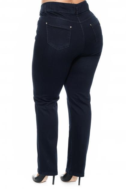 Артикул 304184 - джинсы большого размера - вид сзади