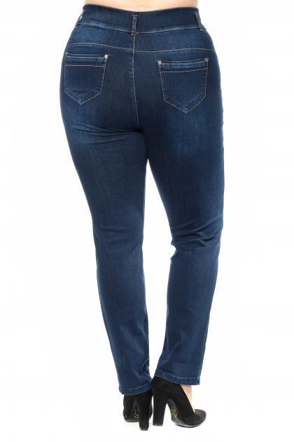 Артикул 300329 - джинсы большого размера - вид сзади