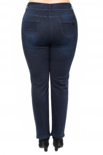 Артикул 304194 - джинсы большого размера - вид сзади