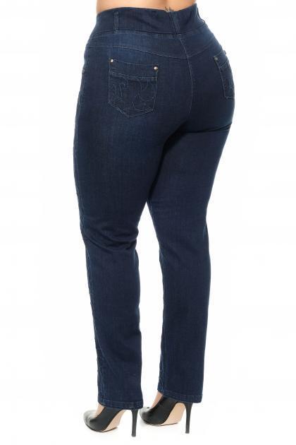 Артикул 304259 - джинсы большого размера - вид сзади