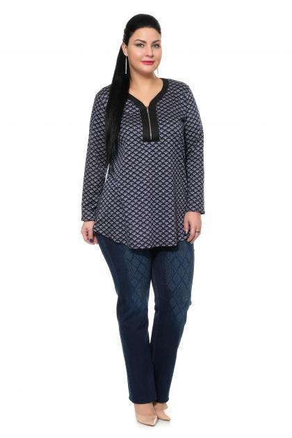 Артикул 302457 - джинсы большого размера