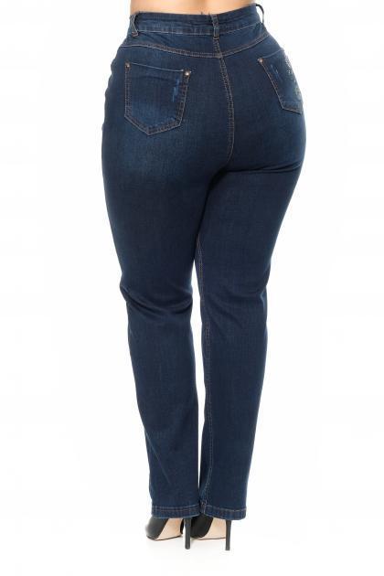 Артикул 302525 - джинсы большого размера - вид сзади