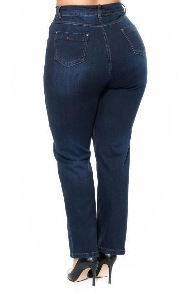 Артикул 302521 - джинсы большого размера - вид сзади