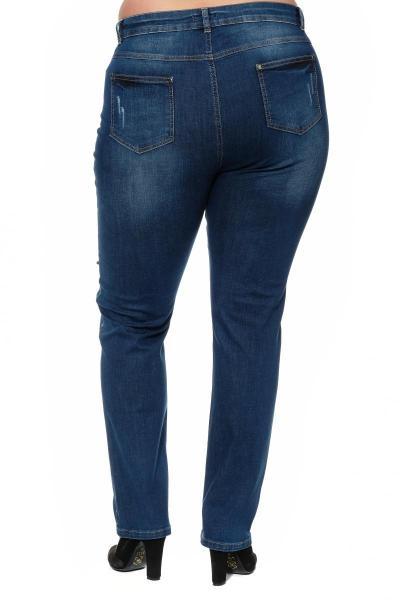 Артикул 304658 - джинсы большого размера - вид сзади