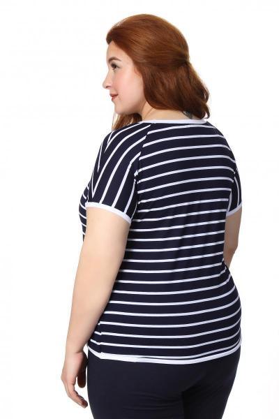 Артикул 110-1 - футболка  большого размера - вид сзади