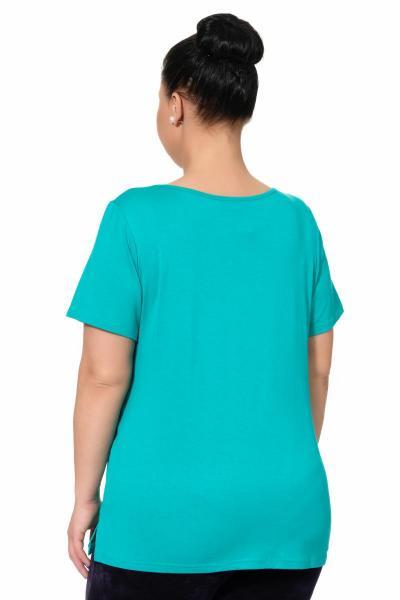 Артикул 615 - футболка большого размера - вид сзади