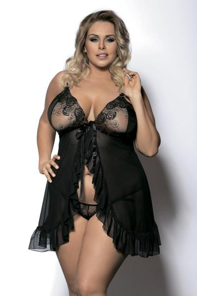 Секси нижнее белье для толстушек — photo 12