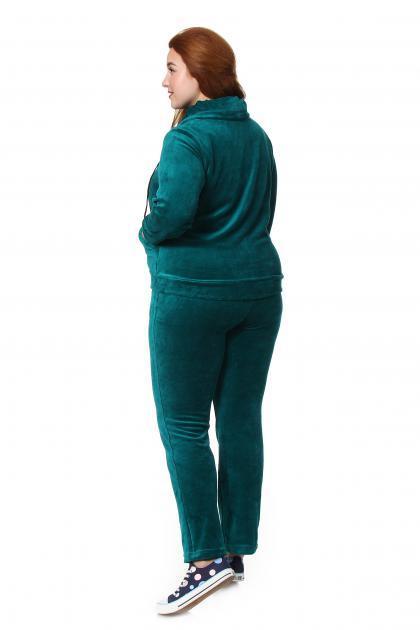 Артикул 60 - костюм  большого размера - вид сзади
