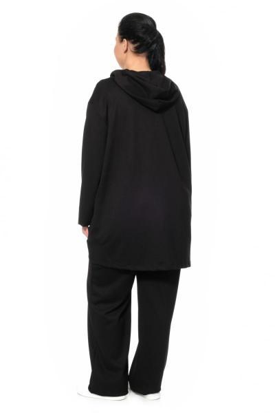 Артикул 308208 - костюм для дома и спорта большого размера - вид сзади
