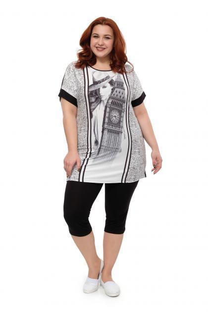 873cfbf8e06 Женская домашняя одежда больших размеров для полных в Москве купить ...