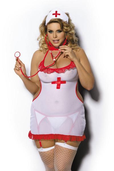 Артикул 17007 - костюм эротический большого размера