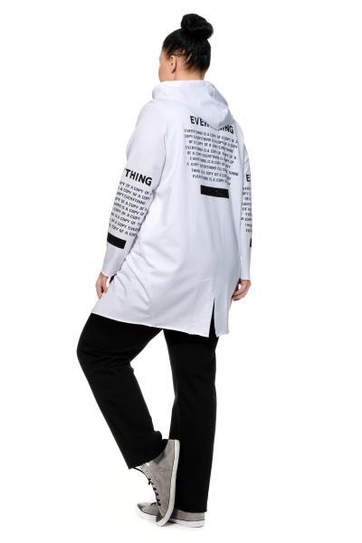 Артикул 306029 - костюм спортивный большого размера - вид сзади