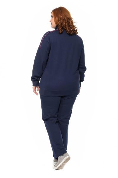 Артикул 320976 - костюм спортивный большого размера - вид сзади