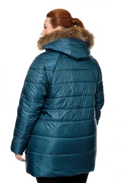 Артикул 0010806 - куртка большого размера - вид сзади