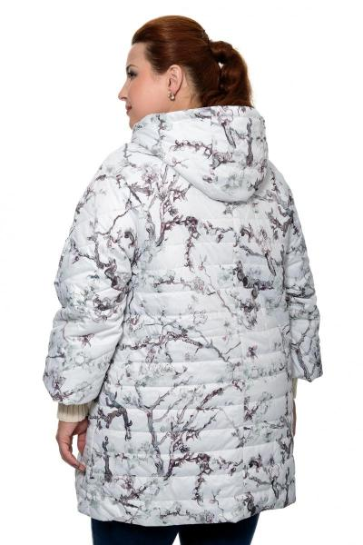 Артикул 0010783 - куртка большого размера - вид сзади