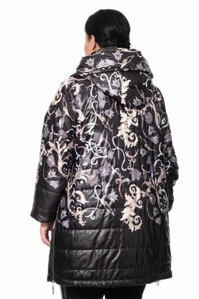 Артикул 370839 - куртка большого размера - вид сзади