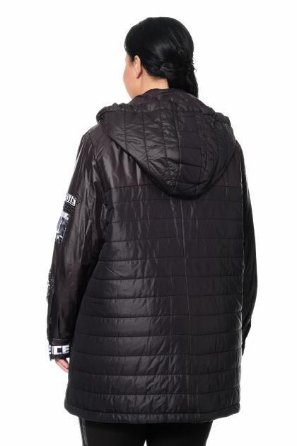 Артикул 361408 - куртка большого размера - вид сзади