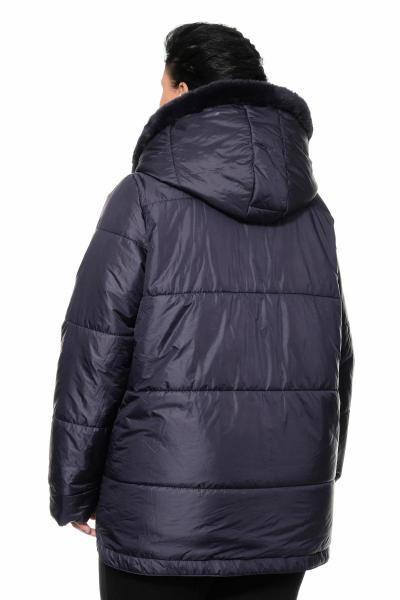 Артикул 307007-1 - куртка большого размера - вид сзади