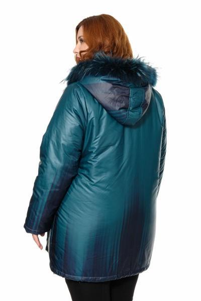 Артикул 361412 - куртка большого размера - вид сзади