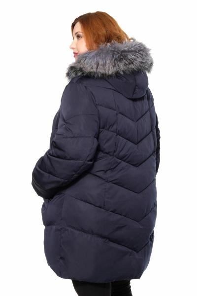Артикул 301783 - куртка большого размера - вид сзади