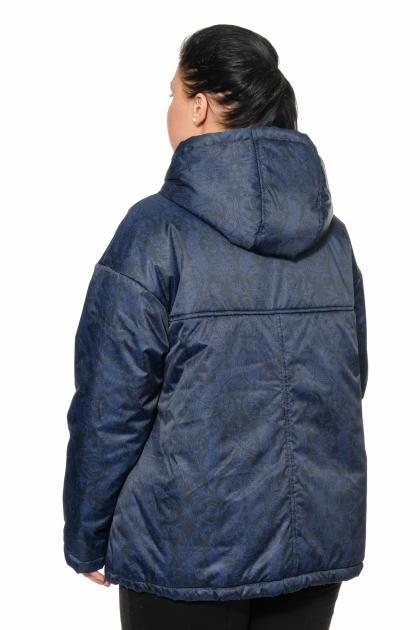 Артикул 0010901 - куртка большого размера - вид сзади
