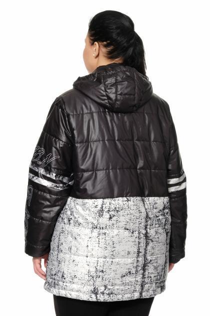 Артикул 361406 - куртка большого размера - вид сзади