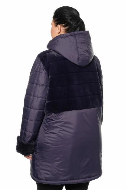Артикул 307036 - куртка большого размера - вид сзади