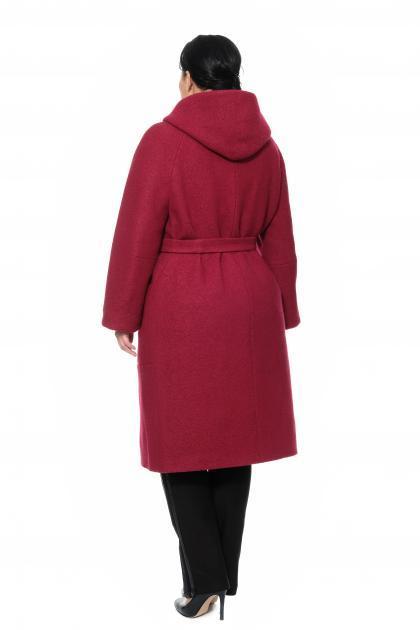 Артикул 300912 - пальто большого размера - вид сзади